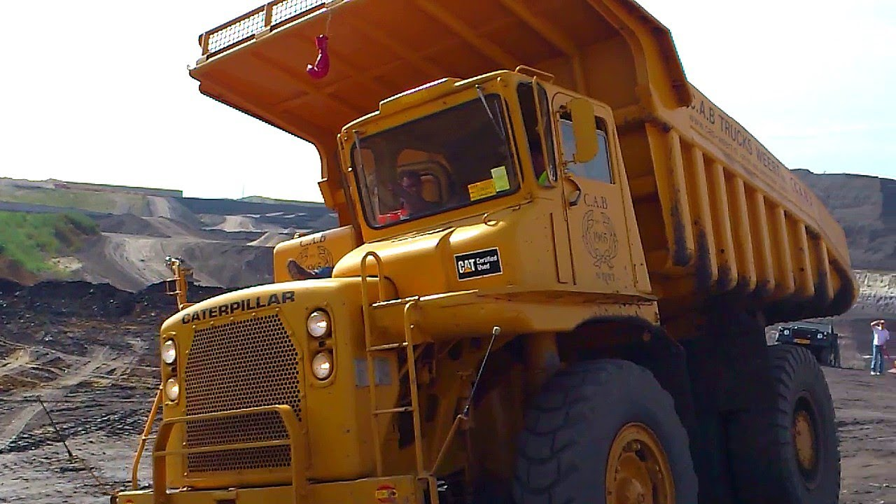 Caterpillar 769 @ Truck In The Koel 2012