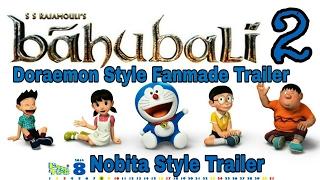 Bahubali 2 Sızmasına Hintçe | Style Parodi Doraemon | Doraemon VM Bollywood Trailer | Doraemon Parodi |