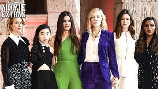 OCEAN'S 8 | NY Press Conference with cast & director