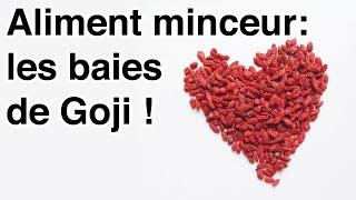 Aliment minceur / les baies de Goji(http://aidepourmaigrir.com/youtube Cliquez ici pour rejoindre APM et recevez gratuitement votre cadeau de bienvenue. https://aidepourmaigrir.com pour plus ..., 2016-06-02T11:44:29.000Z)