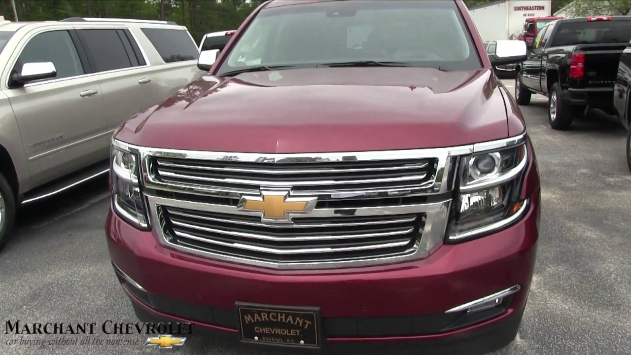 2017 Chevrolet Tahoe Premier Package Walkaround Review Specs Features At Marchant Chevy