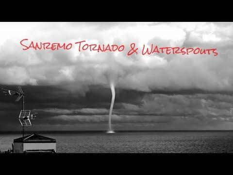 Sanremo Tornado & Waterspouts (Italy)