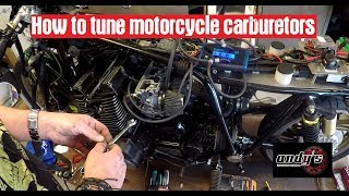 How to tune motorcycle carburetors
