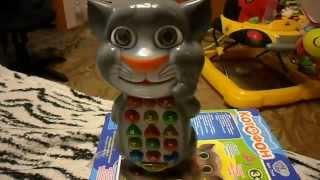 Обзоры игрушек - Умный телефон Котофон Кот Том Tom Cat