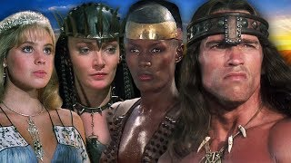 CONAN THE DESTROYER ⭐ Then and Now 1984 vs 2018