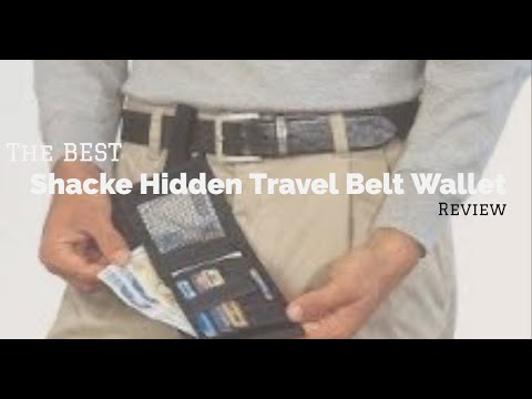 Shacke Hidden Travel Belt Wallet Review