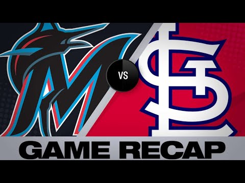 Yamamoto, Castro lead Marlins to a 6-0 win   Marlins-Cardinals Game Highlights 6/18/19