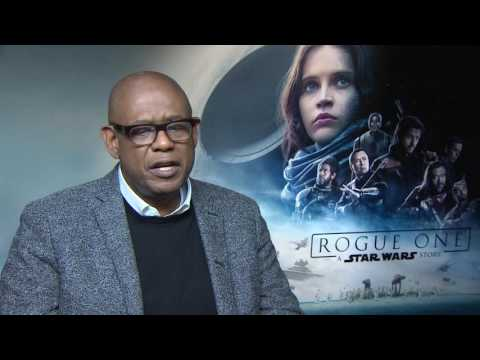 Forest Whitaker Interview ROGUE ONE : A STAR WARS STORY - behind the scenes - keeping movie props
