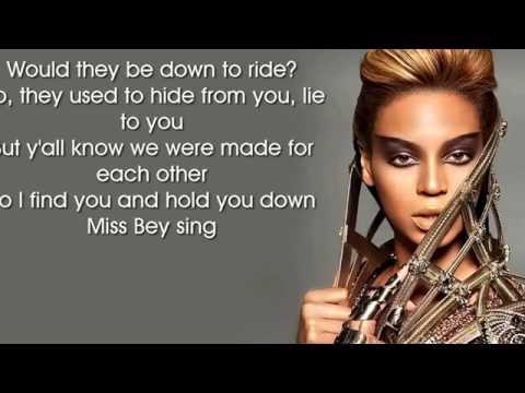 Beyoncé- Hold Up lyrics video