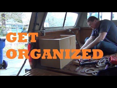Truck Bed Organizer | 4x4/Overland Truck Project | Part 1