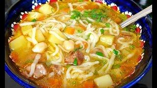 Узбекский Суп Угра Хоть каждый день подавайте такое на обед или на ужин