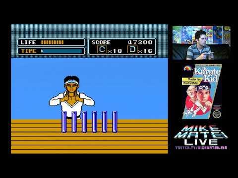 Karate Kid (NES) Mike Matei Live