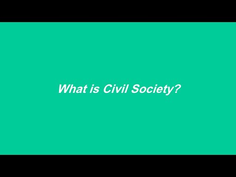 What is Civil Society? | ما هو المجتمع المدني؟