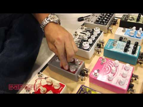 Earthquaker Devices New Cloven Hoof Fuzz Pedal at Summer NAMM 2014