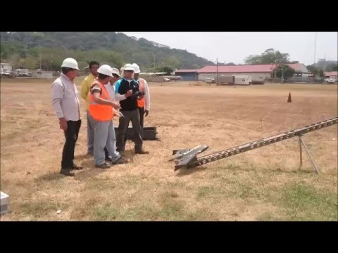 Trimble UX5 launch in the ACP (Panama Canal Authority)II.