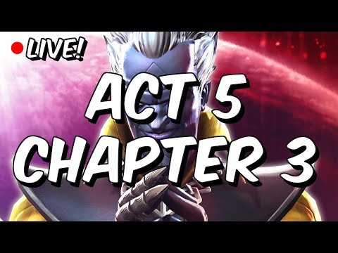 Act 5 Chapter 3 - Part 2 (Quests 4, 5 & 6) LIVE - Marvel Contest Of Champions