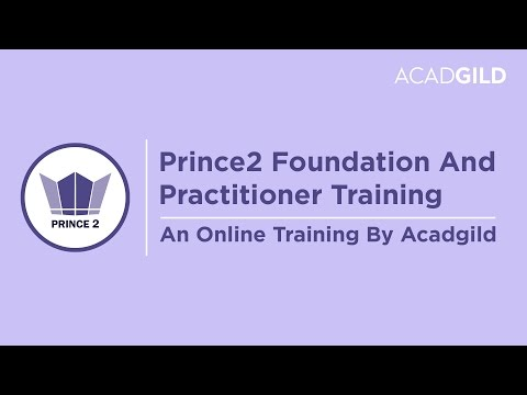 Prince2 Foundation Training Video | Prince2 Foundation Tutorials for Beginners