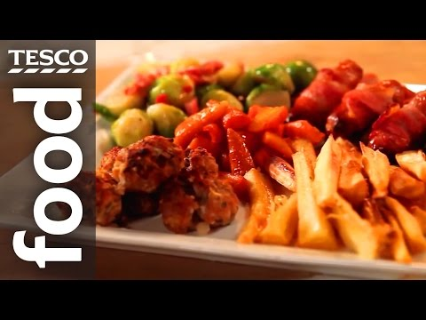 How To Make Christmas Dinner Side Dishes | Tesco Food