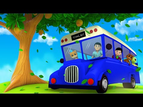 The Blue Wheels On The Bus | Junior Squad...