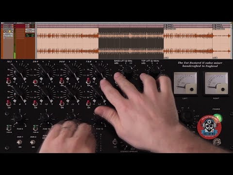 Mixing Drums With The Thermionic Culture Fat Bustard