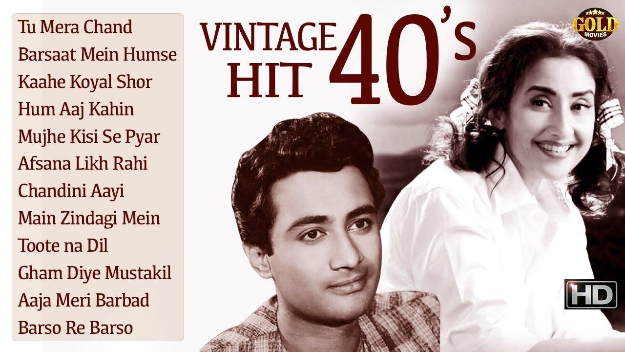 Download 1940's Vintage Hits - Afsana Likh Rahi Hoon & Other Video Songs Jukebox