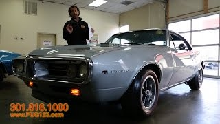 1967 Pontiac Firebird 400 for sale with test drive, driving sounds, and walk through video