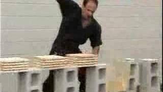 Karate Break World Record - Crazy Ass Video 0002