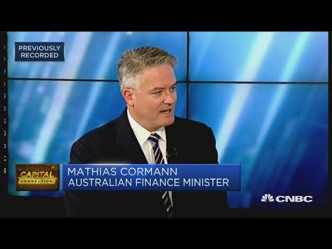 Australia's Finance Minister: The Growth Outlook For Australia Is Stronger | Capital Connection