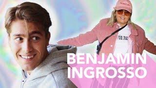 P3 Star Hänger Hos BENJAMIN INGROSSO