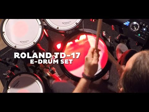 ROLAND TD-17 Features (2019) By KLANGFARBE