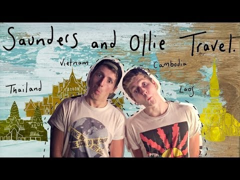 Saunders and Ollie - Live blogging across Asia - #SOtravel