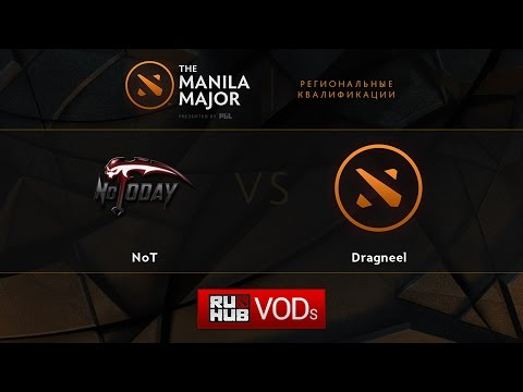 NoT vs Dragneel, Manila Major Qualifiers game 1