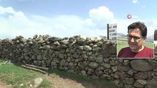 Giresun'daki 400 Yıllık 'Hacı Abdullah Duvarı' Havadan Görüntülendi