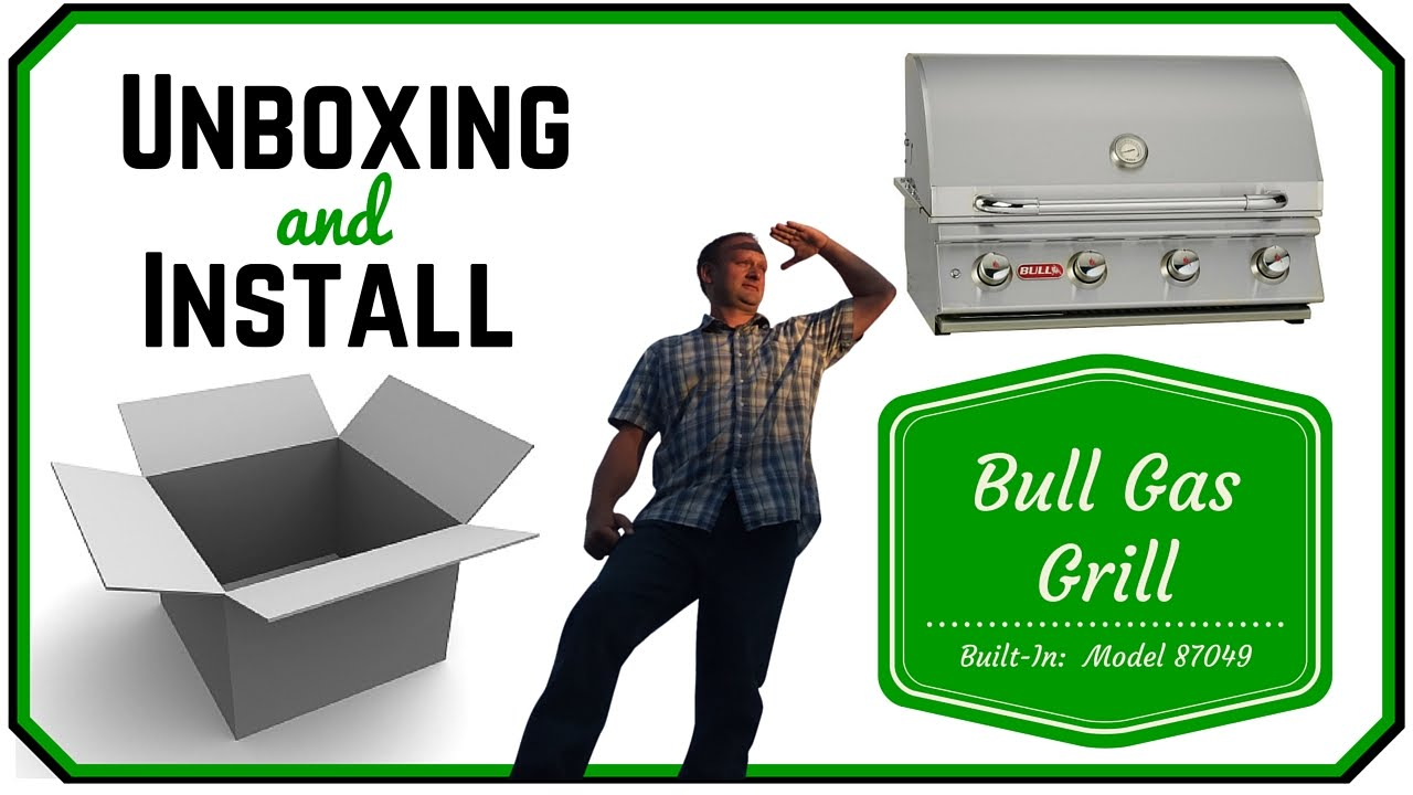 Natural Gas BBQ Review Bull Drop-In Grill