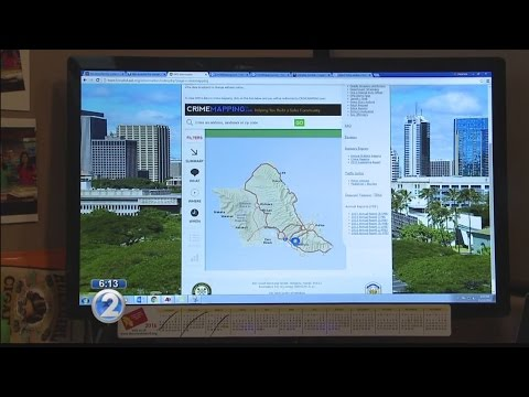 Improvements to Oahu crime mapping tool to be discussed by city, police