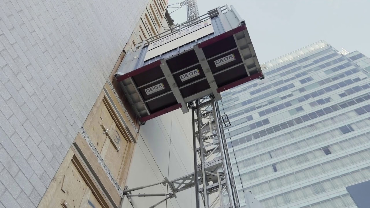 Construction Elevators & Hoists - Temporary Construction