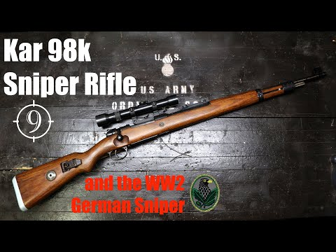 The Kar98k Sniper Rifle and the WW2 German Sniper from YouTube · Duration:  15 minutes 36 seconds