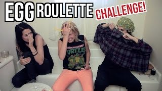 EGG ROULETTE CHALLENGE with Stevie Boebi & Ali Spagnola