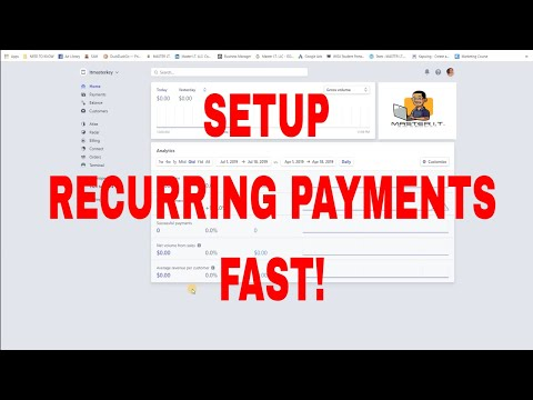 How To Setup Stripe Recurring Payments FAST!