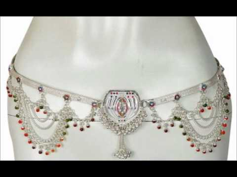 belly chain body jewelry bellychain from India