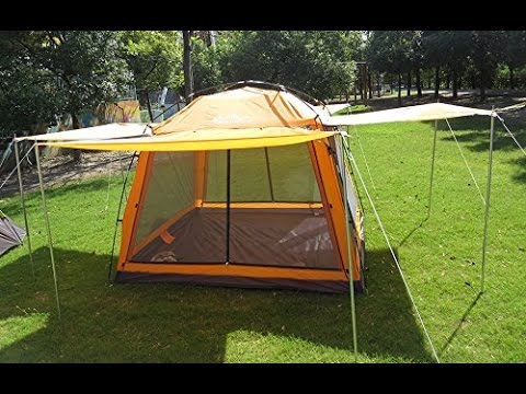 Review Hasika 8 X 8 Instant Screened Canopy Waterproof(not include outside poles) & Review: Hasika 8 X 8 Instant Screened Canopy Waterproof(not ...