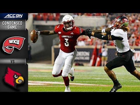 Western Kentucky vs. Louisville Condensed Game   2018 ACC Football