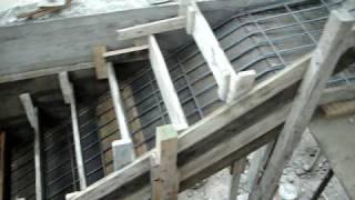 Replanteo y construcci n escalera b veda a la catalana for Como trazar una escalera de caracol de concreto