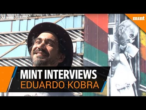 Mint interviews Eduardo Kobra