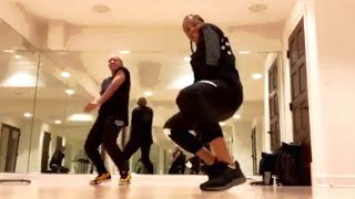 "Ciara dances to Missy Elliott x ""Throw It Back"""