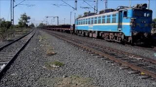 Rarely Seen On Western Railway : BNDM(Bondamunda) WAG-7 #27252 With Empty Rakes