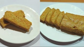 EGGLESS CARROT CAKE-- Soft & Moist   Eggless Wheat Flour Carrot Cake Without Oven   Cake Recipe