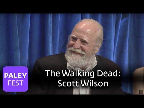 The Walking Dead  Scott Wilson on Herschel Greene