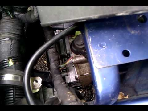 saab transmission valve body removal