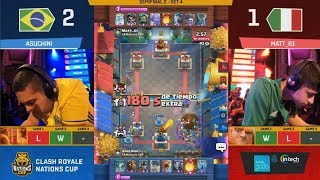 [SEMI FINAL] BRASIL VS ITALY | CLASH ROYALE NATIONS CUP 2018